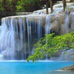 Kanchanaburi Erawan Wasserfall