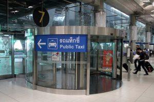 Flughafen Bangkok Suvarnabhumi Taxi-Schalter