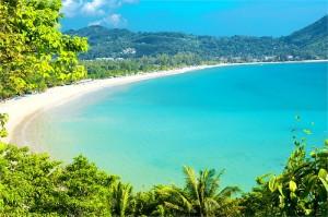 Bucht auf der Insel Phuket