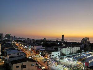 Pattaya Naklua Aussicht zu Corona Zeiten