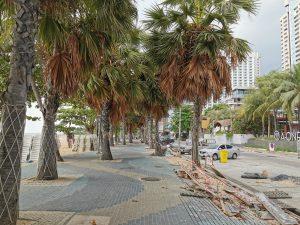 Pattaya Beach Road zu Corona Zeiten