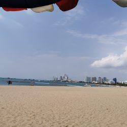 Pattaya Strand zur Corona-Krise